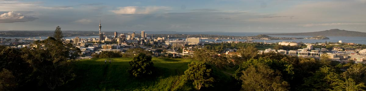 City View from Mt Eden