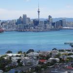 Auckland Sky Tower and Skyline