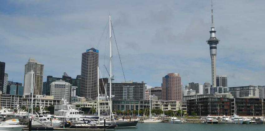 Central Auckland skyline