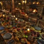 Green Dragon banquet